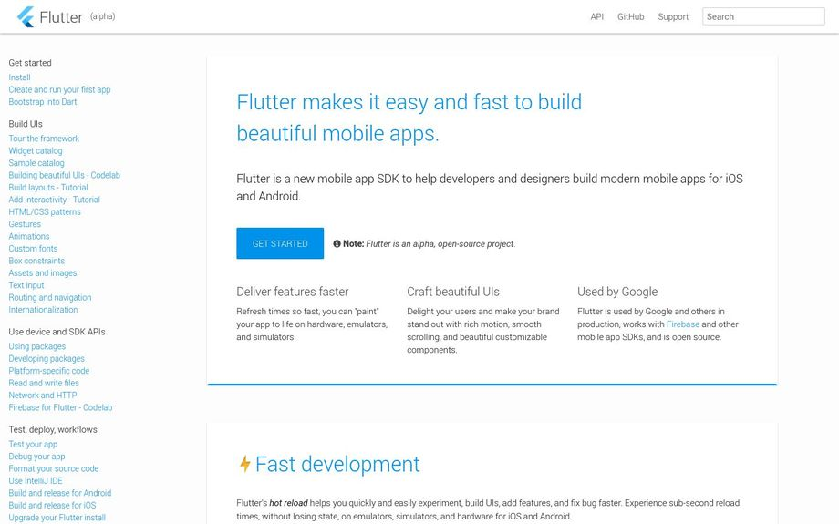 Flutter (W12) in YCDB - The Y Combinator Database